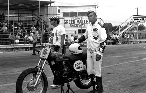 Bob Gill at Green Valley Raceway